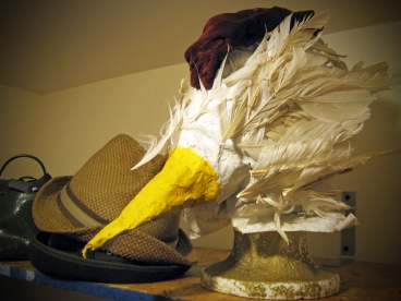 2005. Paper Mache and Found Material.