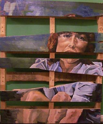 2004. Acrylic on Wood.