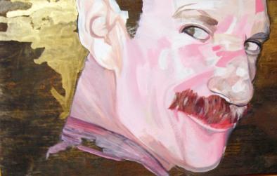 2008. Acrylic on Metal.
